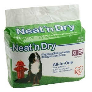 Neat'n Dry Floor Training Pads Extra Large, 20-Count