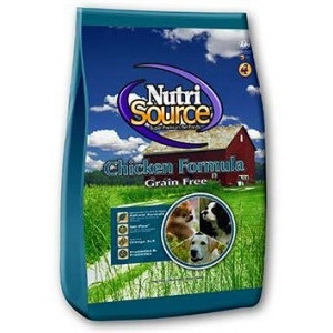 NutriSource® Chicken Formula Grain Free Dog Food