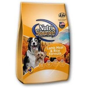 NutriSource® Lamb Meal & Rice Formula