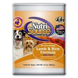 NutriSource® Lamb & Rice Formula