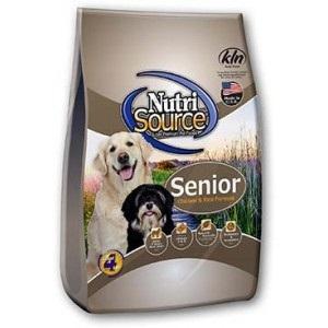 NutriSource® Senior Dog Chicken and Rice Formula
