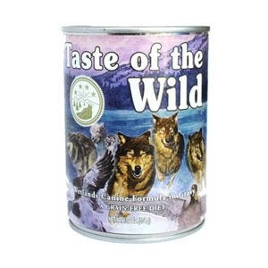 Taste of the Wild Wetlands Canine Formula in Gravy