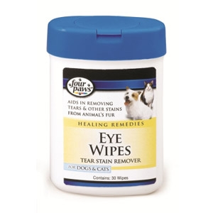 Four Paws® Gentle Eye Wipes for Dogs & Cats