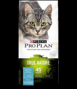 Purina Pro Plan True Nature 45% Protein Cat Food