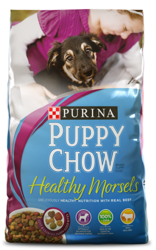 Purina Puppy Chow Healthy Morsels 32 pound
