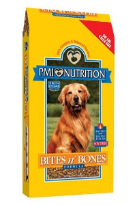 PMI Nutirition Bites N Bones Formula Dog Food 50 pound