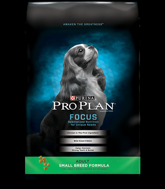 Purina Pro Plan Focus Adult Small Breed Formula 6 pound bag