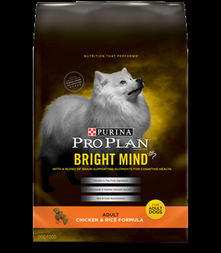 Purina Pro Plan Bright Mind Adult Chicken and Rice Formula 5 pound