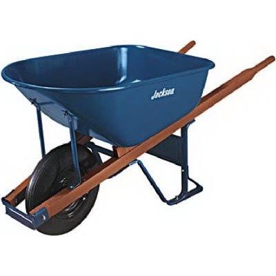 Wheelbarrow, 4.5 cu ft.