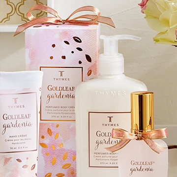 NEW Thymes Goldleaf Gardenia Collection