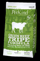 PetKind Green Beef Tripe Dog Food 25lb