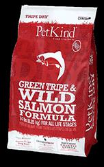 PetKind Green Tripe & Wild Salmon Dog Food 25lb