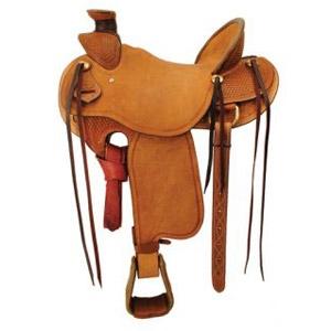 Ozark Saddle King Of Texas Old West Roper Saddle