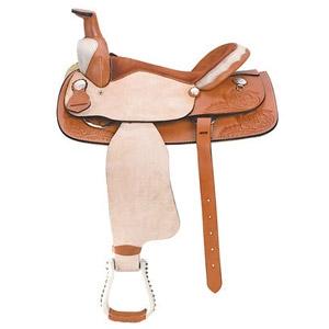 Ozark Saddle King Of Texas The Supreme Rawhide Roper Roughout Saddle