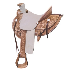 Billy Cook Lone Star Wade Ranch Roper Saddle
