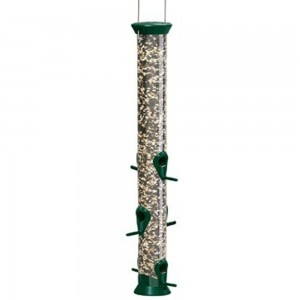 Droll Yankees New Generation 23″ Forest Green Sunflower/Mixed Seed Feeder