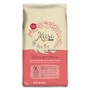Purina® Muse® Sailing with Salmon Dry Cat Food- 10% OFF