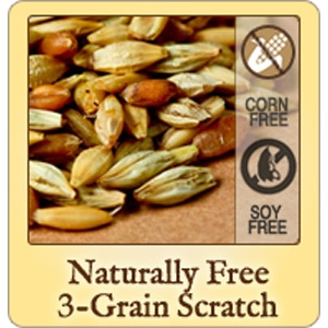 Naturally Free 3-Grain Scratch Chicken Feed