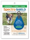 Spectra Shield Collar Attached Medallion for Dogs, Flea and Tick Protection