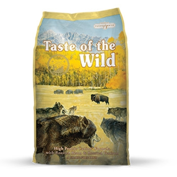 Taste of the Wild High Prairie Formula with Roasted Bison & Venison Dry Dog Food
