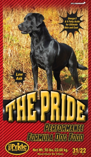 Pride 31/22 Performance Formula Dog Food, 50 pound bag