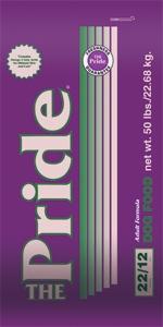 Pride 22/12 Adult Formula Dog Food, 50 pound bag