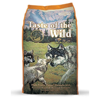 Taste of the Wild High Prairie Formula with Roasted Bison & Venison Dry Puppy Food
