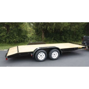 Trailer, 2 wheel Flatbed