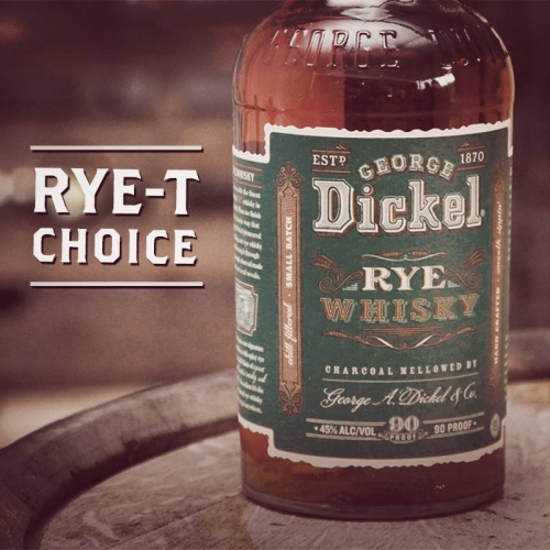 George Dickel Rye is here!