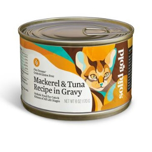 Solid Gold® Five Oceans® Canned Cat Food Mackerel & Tuna Recipe