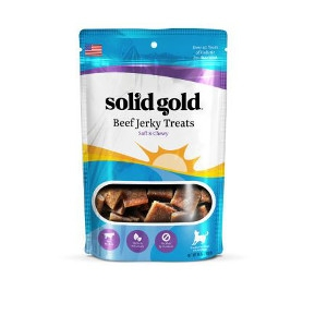Solid Gold® Beef Jerky Dog Treats