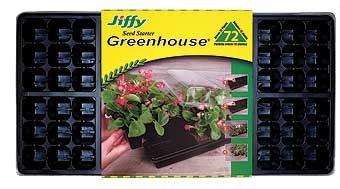 Jiffy 72 Plant Seed Starter Greenhouse