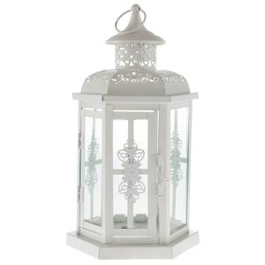 White Octagon Wedding Lantern