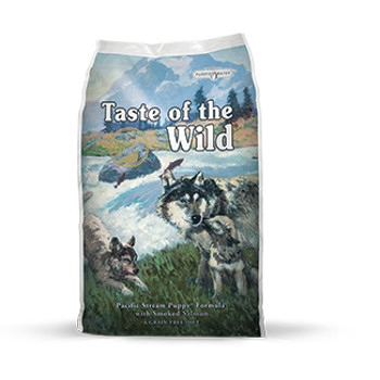 Taste of the Wild Pacific Stream Formula with Smoked Salmon Dry Puppy Food
