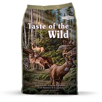 Taste of the Wild Pine Forest Formula with Venison & Legumes Dry Dog Food