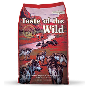 Taste of the Wild Southwest Canyon Formula with Wild Boar Dry Dog Food