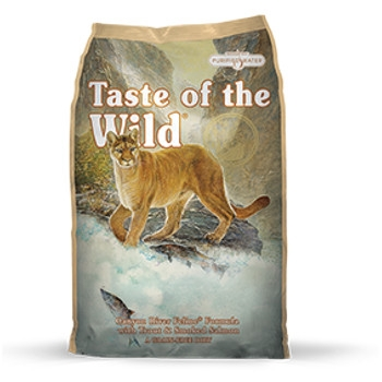 Taste of the Wild Canyon River Formula with Trout & Smoked Salmon Dry Cat Food