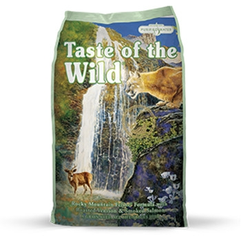Taste of the Wild Rocky Mountain Formula with Roasted Venison & Smoked Salmon Dry Cat Food
