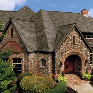Timberline High Definition Shingles in Weathered Wood