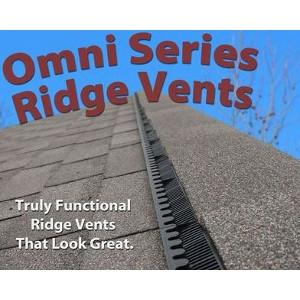 Lomanco Vents Lo-OmniRoll Ridge Vent