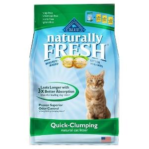 Blue Naturally FreshQuick-Clumping FormulaNatural Cat Litter