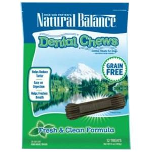 Natural BalanceDental Chews Fresh & Clean Formula