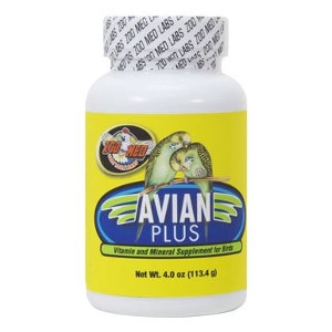 ZooMed Avian Plus Vitamin & Mineral Supplement