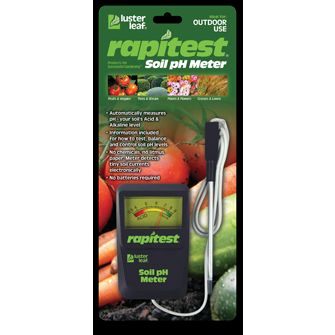 Luster Leaf Soil pH Meter