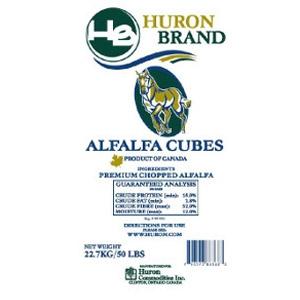 Huron Brand Alfalfa Cubes
