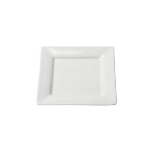 Square White Bread & Butter / Appetizer 6 Inch Plate