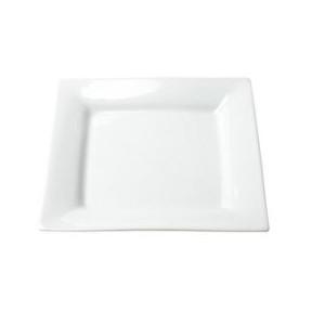 Square White Salad / Dessert 7 Inch Plate