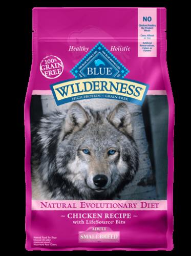 Blue Buffalo Wilderness Small Breed Chicken Dog 11#