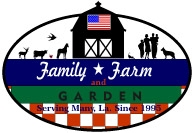 Family Farm & Garden  Logo