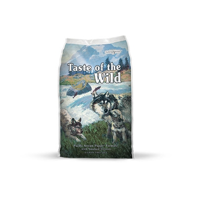 Taste of the Wild Pacific Stream with Smoked Salmon Dry Puppy Food